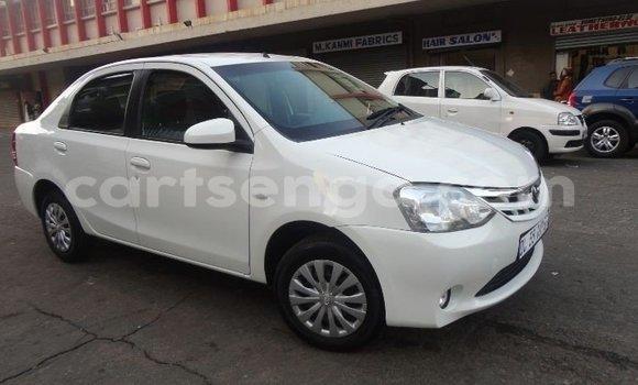 Buy Used Toyota Etios White Car in Mbabane in Manzini