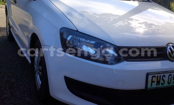 Buy Volkswagen Polo White Car in Mbabane in Swaziland