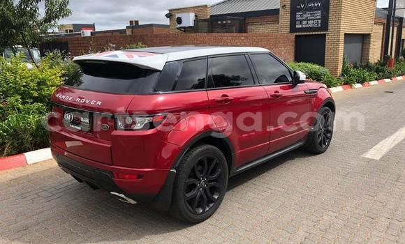 Buy Used Land Rover Range Rover Evoque Red Car in Mbabane in Manzini