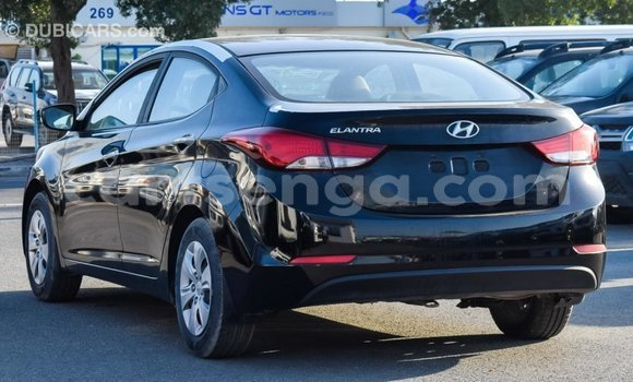 Buy Import Hyundai Elantra Black Car in Import - Dubai in Hhohho