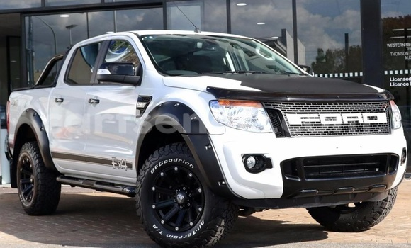 Buy New Ford Ranger White Car in Big Bend in Swaziland