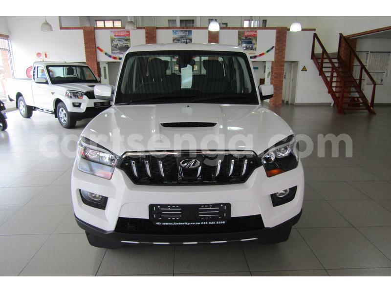 Buy Used Mahindra NC 640 DP White Car in Mbabane in Manzini
