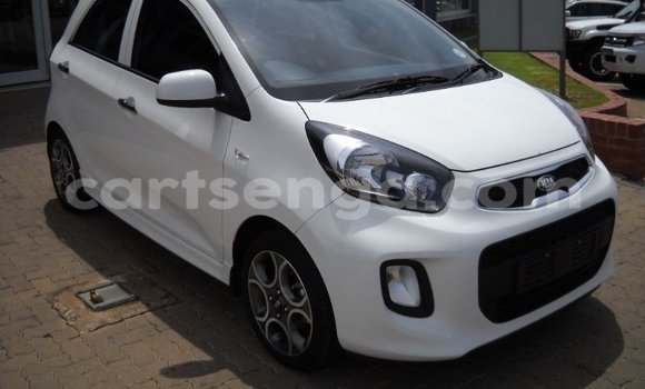 Buy Used Kia Picanto White Car in Mbabane in Swaziland
