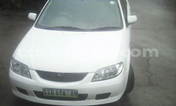 Buy Mazda Familia White Car in Manzini in Swaziland