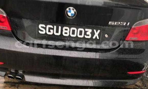 Buy BMW 5-Series Black Car in Manzini in Swaziland