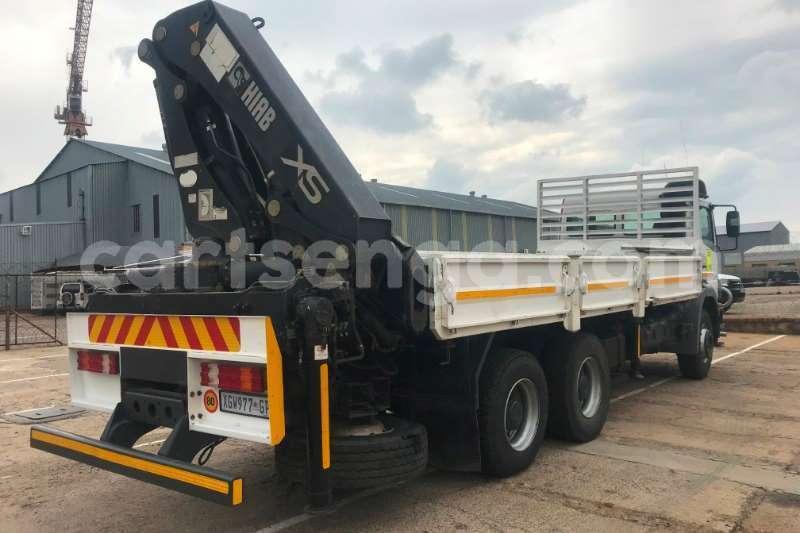 Big with watermark mercedes benz truck crane truck 2628 axor 6x4 d side crane truck hiab 322ep 2 2008 id 62790534 type main