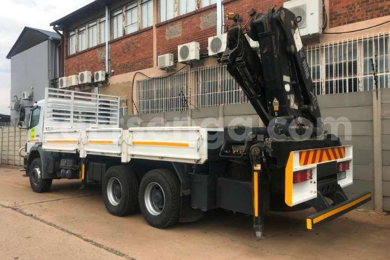 Big with watermark mercedes benz truck crane truck 2628 axor 6x4 d side crane truck hiab 322ep 2 2008 id 62790540 type main