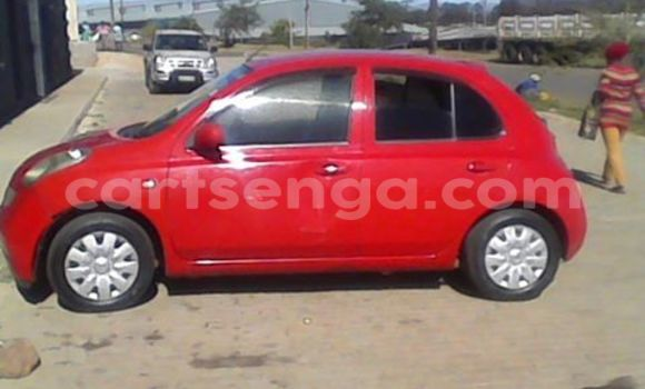 Buy Nissan March Red Car in Manzini in Swaziland