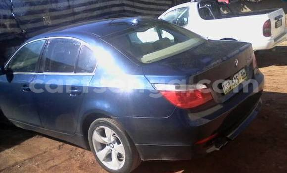 Buy Used BMW 5-Series Blue Car in Manzini in Swaziland