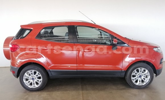Buy Used Ford EcoSport Red Car in Import - Dubai in Hhohho