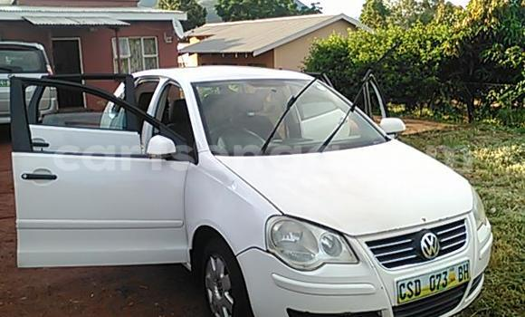 Buy Used Volkswagen Polo White Car in Mbabane in Swaziland