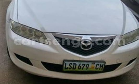 Buy Used Mazda 6 White Car in Manzini in Swaziland