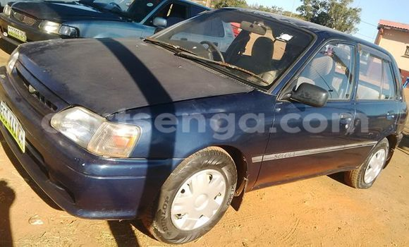 Buy Used Toyota Starlet Blue Car in Manzini in Swaziland