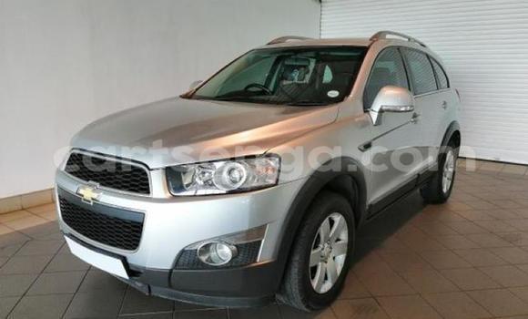 Buy Used Chevrolet Captiva Silver Car in Big Bend in Lubombo