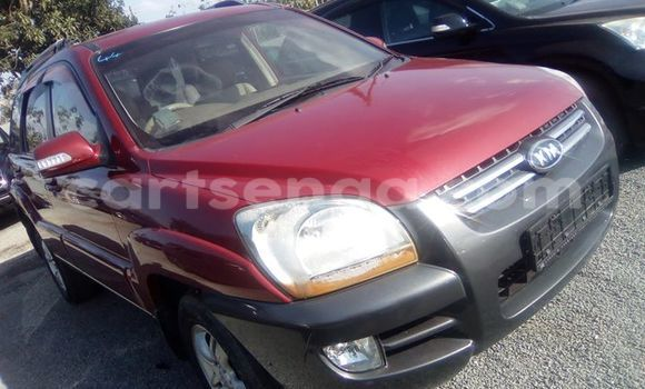 Buy Used Kia Sportage Red Car in Manzini in Swaziland
