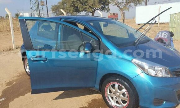 Buy Used Toyota Yaris Blue Car in Manzini in Swaziland