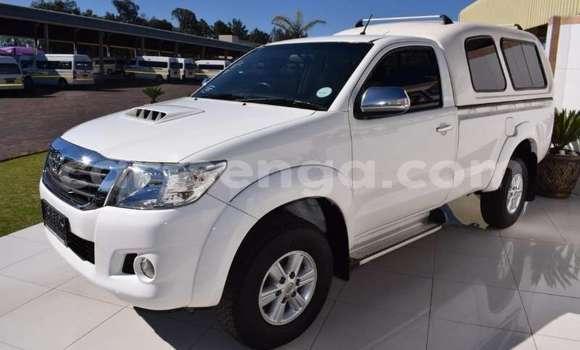 Acheter Occasion Voiture Toyota Hilux Blanc à Ezulwini, Hhohho