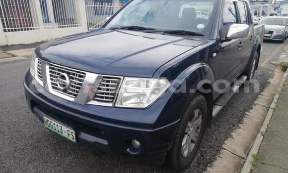Buy Used Nissan Navara (Frontier) Blue Car in Manzini in Manzini