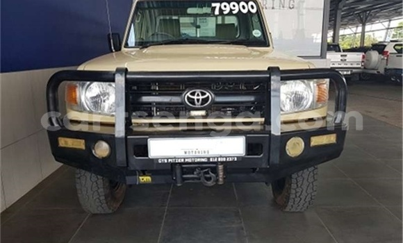 Buy Used Toyota Land Cruiser Brown Car in Manzini in Manzini