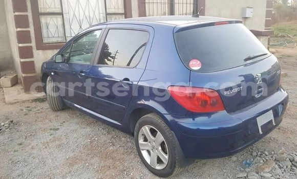 Buy Peugeot 307 Blue Car in Manzini in Swaziland