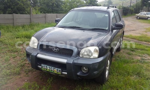 Buy Used Hyundai Santa Fe Black Car in Manzini in Swaziland
