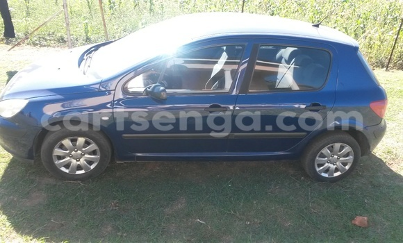 Buy Used Peugeot 307 Blue Car in Mbabane in Swaziland