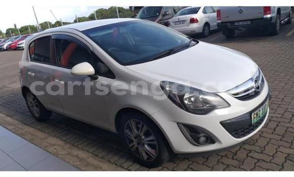 Buy Used Opel Corsa White Car in Manzini in Manzini