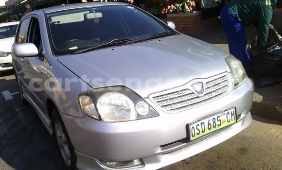 Buy Used Toyota Runx Silver Car in Manzini in Swaziland