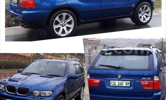 Buy Used BMW X5 Blue Car in Manzini in Swaziland