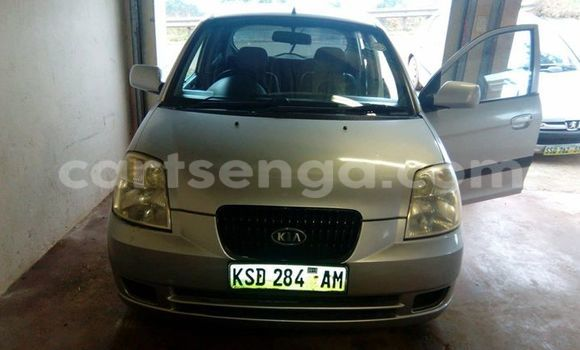 Buy Used Kia Picanto Silver Car in Manzini in Swaziland