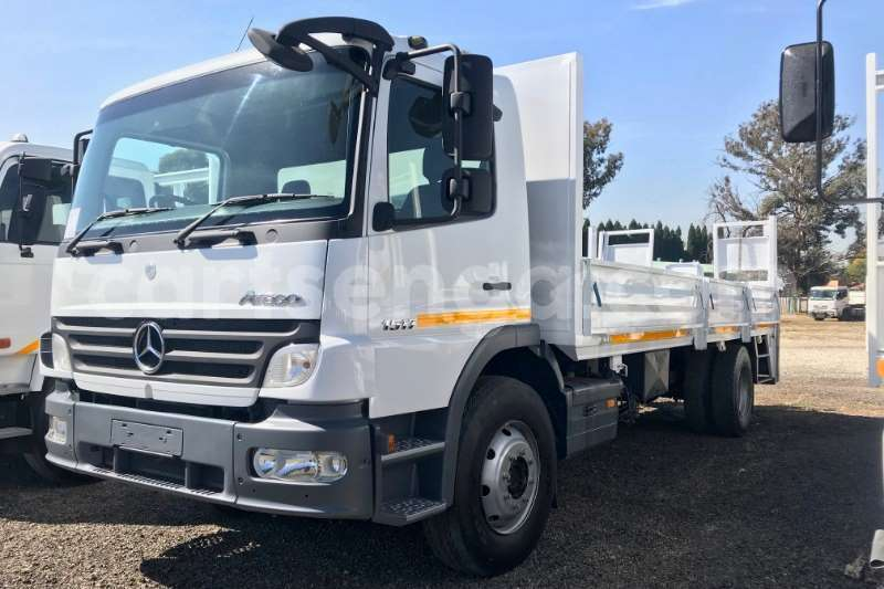 Big with watermark mercedes benz truck dropside atego 1517 dropside with tail lift 2008 id 63000753 type main