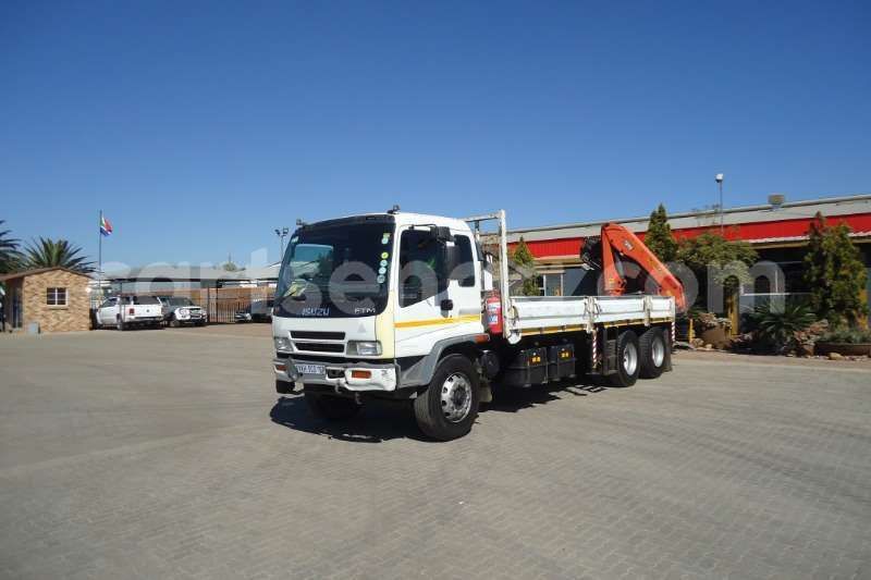 Big with watermark isuzu truck crane truck isuzu ftm 1200 with pk 15500 crane 6x extentions 2008 id 63092568 type main