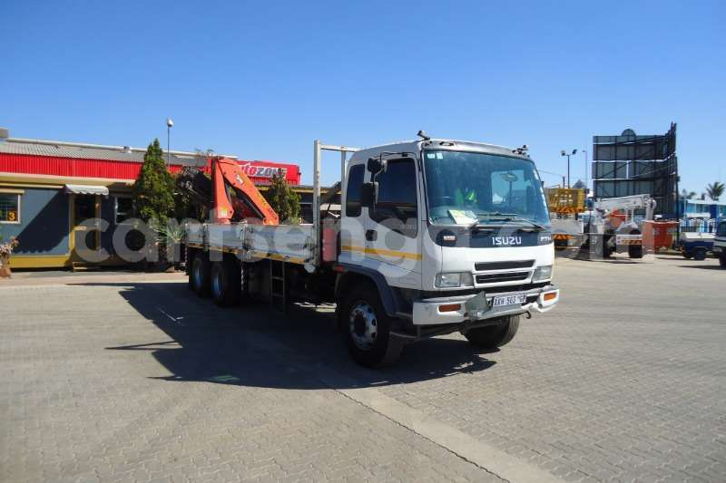 Big with watermark isuzu truck crane truck isuzu ftm 1200 with pk 15500 crane 6x extentions 2008 id 63092569 type main