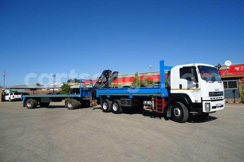 Big with watermark isuzu truck crane truck isuzu fx 26 360 with crane and 10t drawbar trailer 2017 id 63091653 type main