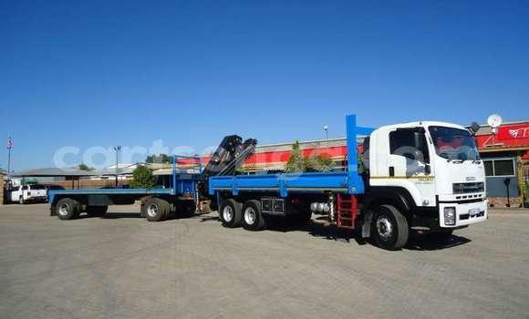 Medium with watermark isuzu truck crane truck isuzu fx 26 360 with crane and 10t drawbar trailer 2017 id 63091653 type main