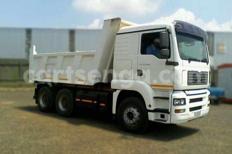 Big with watermark man truck tipper man tga 33 480 10cube tipper truck 2010 id 62338765 type main