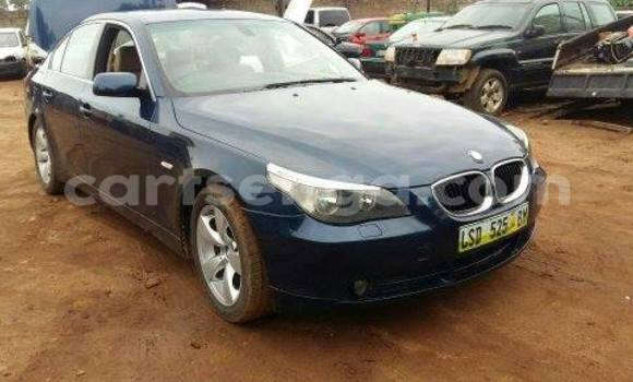 Buy Used BMW 5-Series Black Car in Manzini in Swaziland