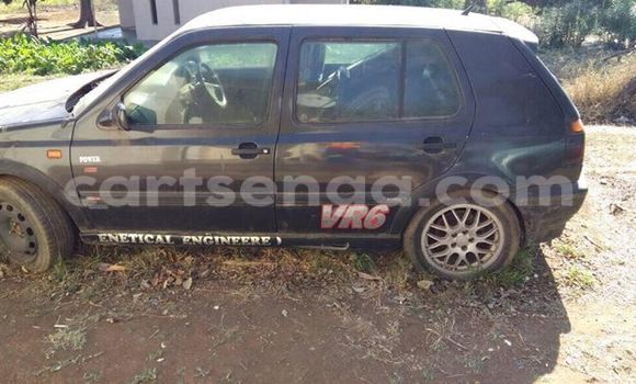 Buy Used Volkswagen Golf Black Car in Manzini in Swaziland