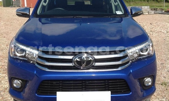 Buy Used Toyota Hilux Blue Car in Mhlume in Swaziland