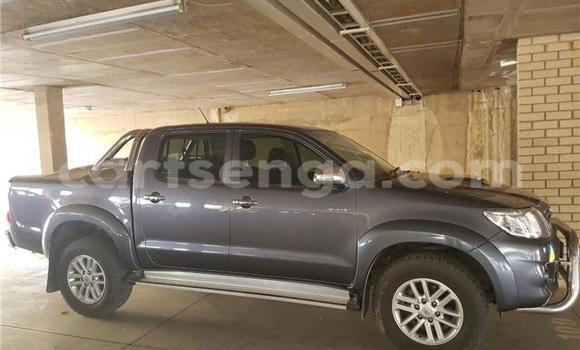Buy Used Toyota Hilux Silver Car in Mbabane in Swaziland