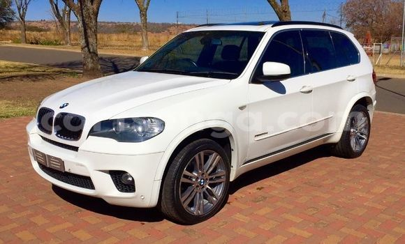 Buy New BMW X5 White Car in Mbabane in Swaziland