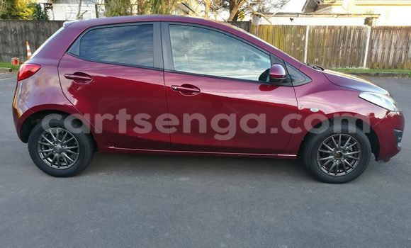Buy Used Mazda 2 Red Car in Malkerns in Swaziland