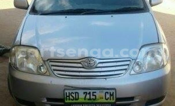 Buy Used Toyota Corolla Silver Car in Manzini in Swaziland