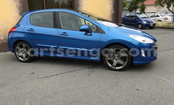 Buy Used Peugeot 308 Blue Car in Manzini in Swaziland