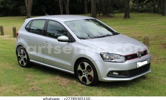 Buy Used Volkswagen Polo Silver Car in Mbabane in Swaziland