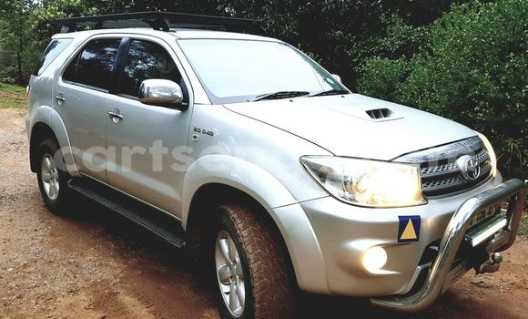 Buy Used Toyota Fortuner Silver Car in Mbabane in Swaziland