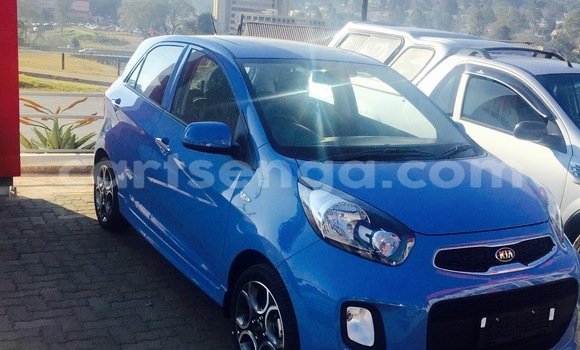 Buy New Kia Picanto Blue Car in Mbabane in Swaziland