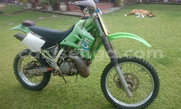 Buy Used Kawasaki KDX200 Green Moto in Manzini in Swaziland