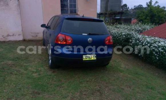 Buy Used Volkswagen Golf Blue Car in Manzini in Swaziland