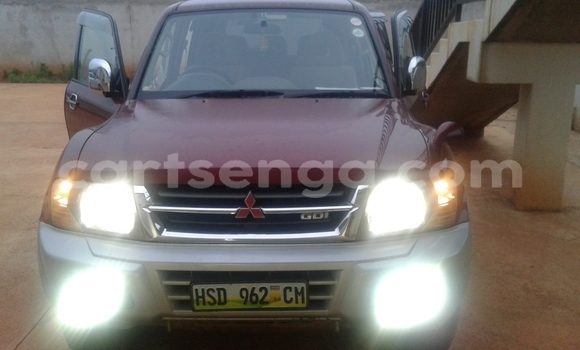 Buy Used Mitsubishi Pajero Red Car in Nhlangano in Swaziland